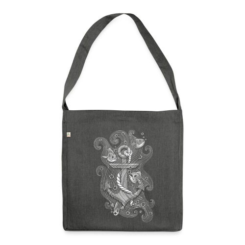 Lost Anchor - Shoulder Bag made from recycled material