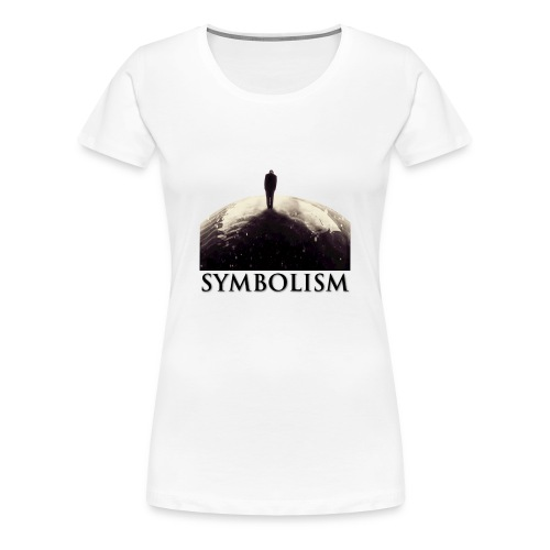 Limited Edition Electro-Light Symbolism women's T-Shirt - Women's Premium T-Shirt