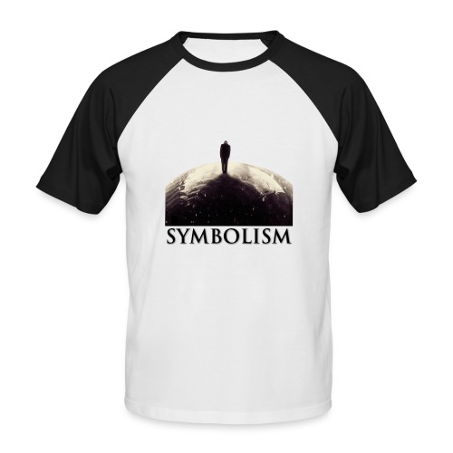Limited Edition Electro-Light Symbolism Men's T-Shirt - Men's Baseball T-Shirt