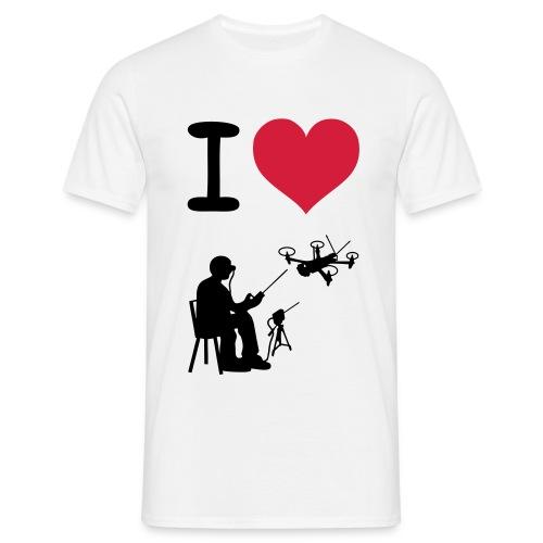 i love flying - Männer T-Shirt