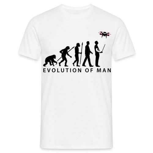 evolution of man - Männer T-Shirt