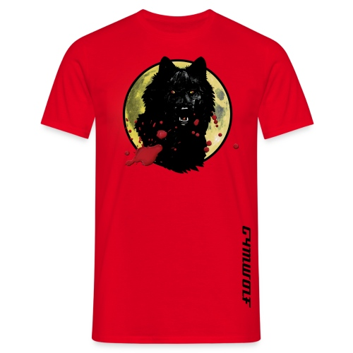 Blood Wolf - Men's T-Shirt