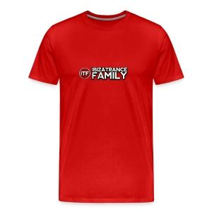 New Logo ITF TOP Front & Back LOGO - Men's Premium T-Shirt
