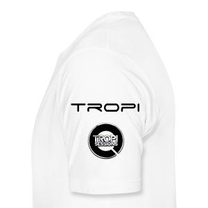 ITF-NEMESIS-TROPI-RAVERS ARMY T-SHIRT - Men's Premium T-Shirt