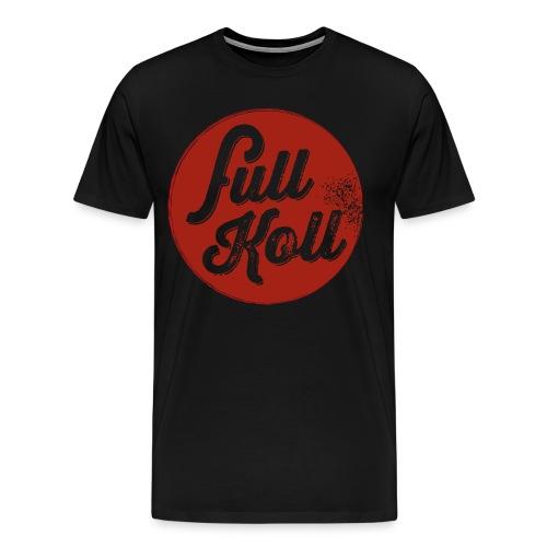 Full Koll Logo T - Premium-T-shirt herr