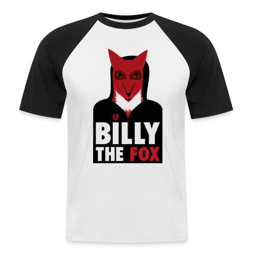 Billy The Fox - Kortärmad basebolltröja herr