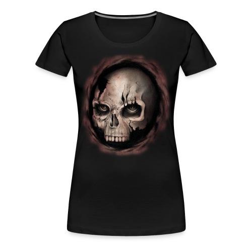 Skull - Maglietta Premium da donna