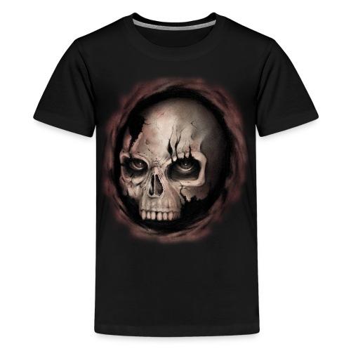 Skull - Maglietta Premium per ragazzi