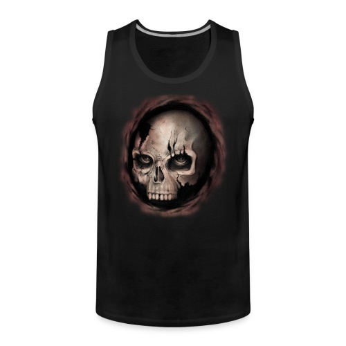 Skull - Canotta premium da uomo