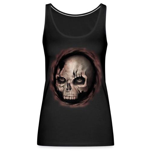Skull - Canotta premium da donna