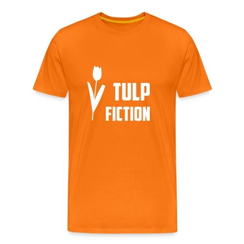 Funny hollands T-shirt Tulp Fiction - Mannen Premium T-shirt