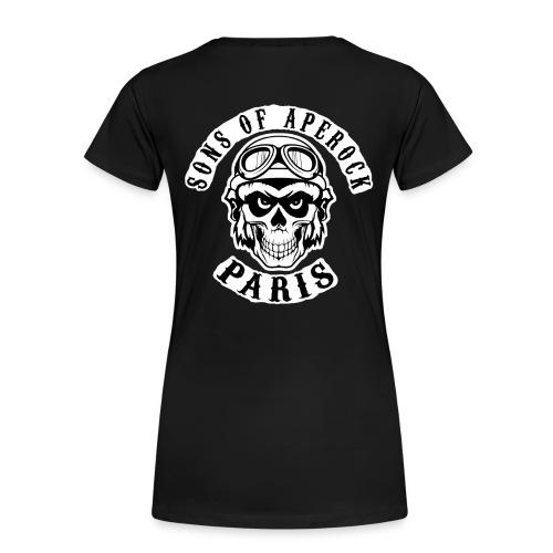 Tee Shirt ApéRock Femme - T-shirt Premium Femme