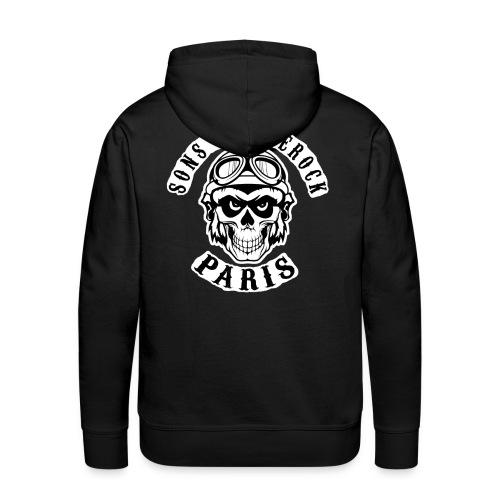 Sweet ApéRock homme - Sweat-shirt à capuche Premium pour hommes
