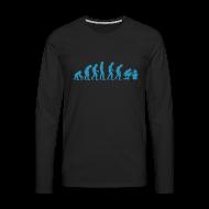 Manches longues ~ Tee shirt manches longues Premium Homme ~ Evolution [esi][fun]