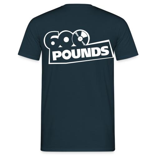 T-Shirt mit großem Logo hinten - Männer T-Shirt