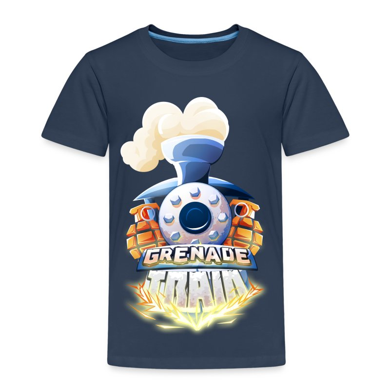 Grenade Train! - Kids' Premium T-Shirt