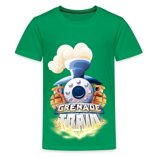 Grenade Train! - Teenage Premium T-Shirt