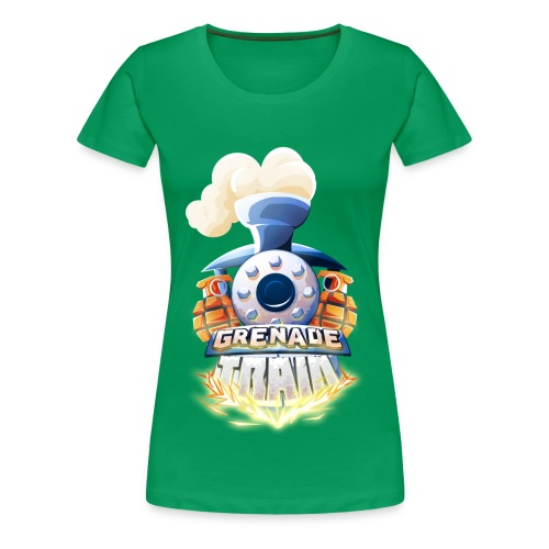 Grenade Train! - Women's Premium T-Shirt