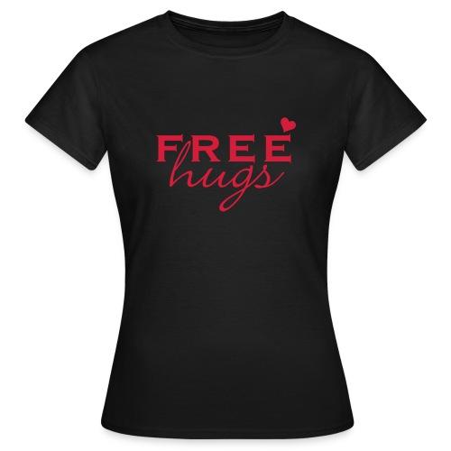 Free Hugs T-shirt - Women's T-Shirt