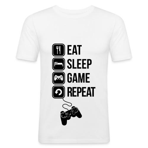 100 % Geek ! - T-shirt près du corps Homme