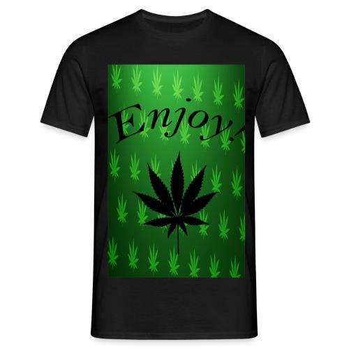 Enjoy! - Männer T-Shirt