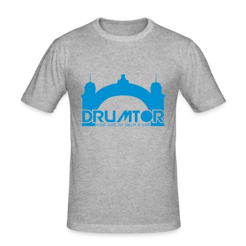 Drumtor slim-fit Shirt male - Männer Slim Fit T-Shirt