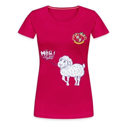 Mäh! Girlie-Shirt Premium - Frauen Premium T-Shirt