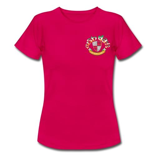 Irish Days Girlie-Shirt Logo Klein - Frauen T-Shirt