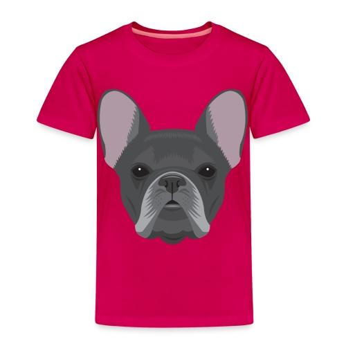 Black French Bulldog - Kids' Premium T-Shirt