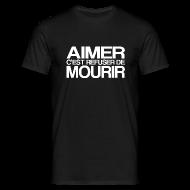 Tee shirts ~ Tee shirt Homme ~ AIMER