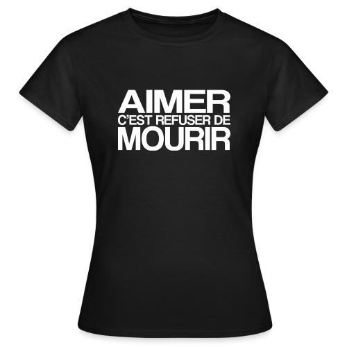 AIMER - T-shirt Femme