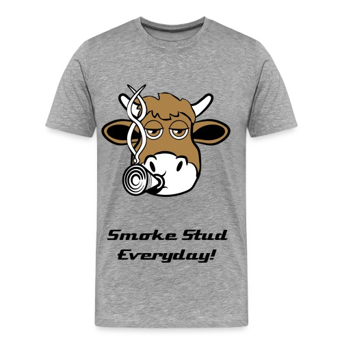 Smoke Stud Everyday! - Herre premium T-shirt
