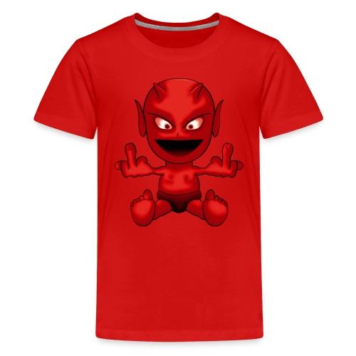 Devil skjorte - Premium T-skjorte for tenåringer