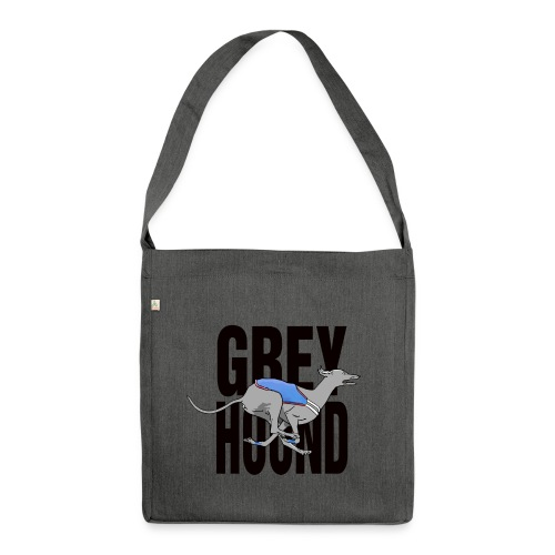 Greyhound - Sac bandoulière 100 % recyclé