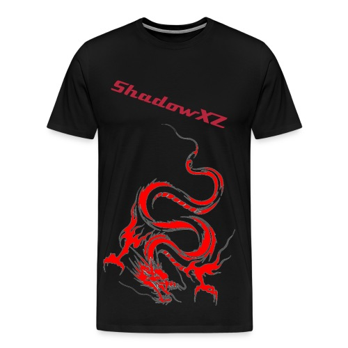 ShadowXZDragon:) - Premium T-skjorte for menn