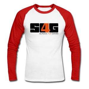 Simply S4G Longshirt Boy - Männer Baseballshirt langarm