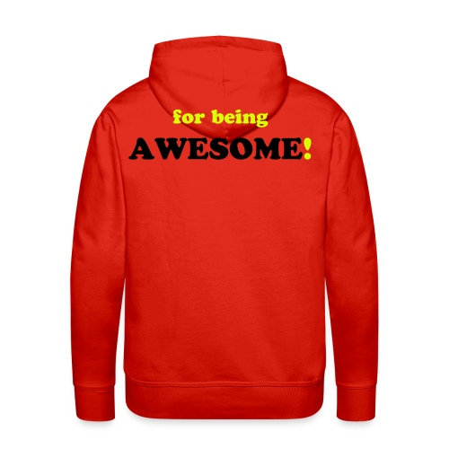 SORRY for being AWESOME! - Männer Premium Hoodie