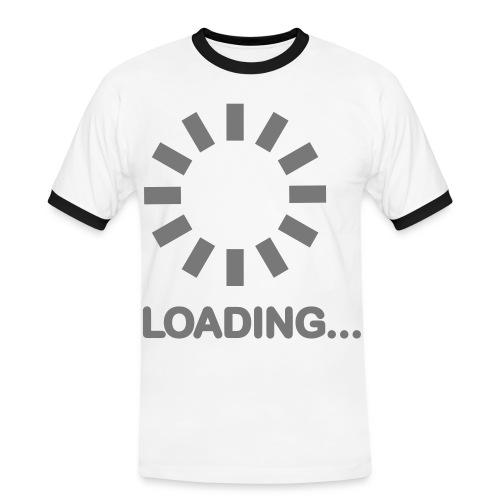 Loading.... - Kontrast-T-skjorte for menn