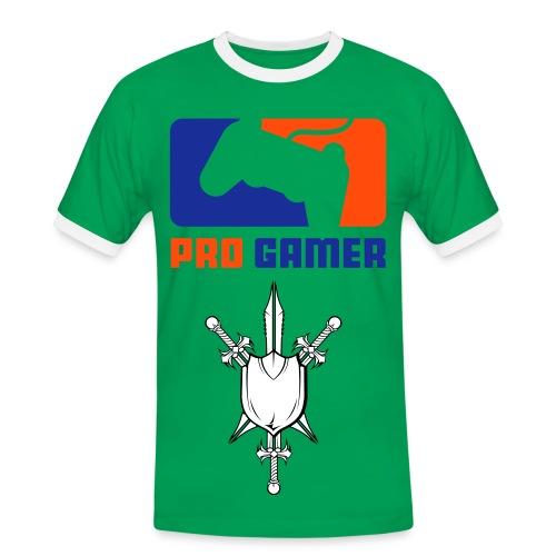 Pro Gamer - Kontrast-T-skjorte for menn