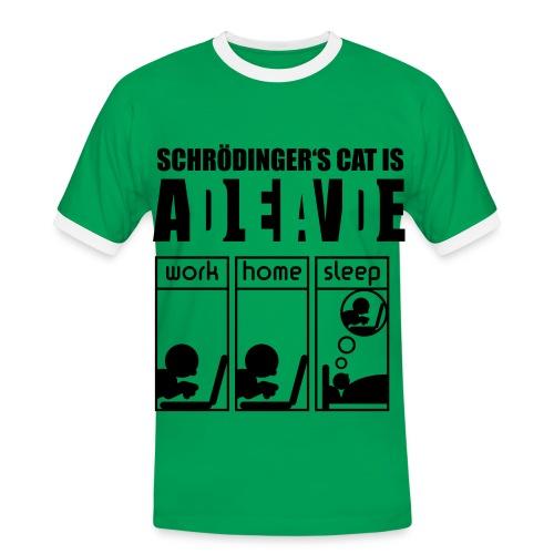 for lærere - Kontrast-T-skjorte for menn