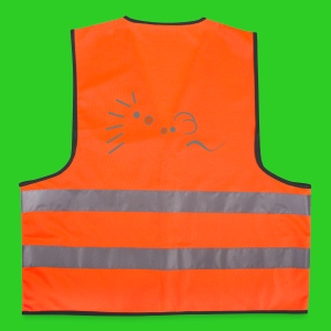 Igel und Maus abstrakt, Safety Vest - Warnweste