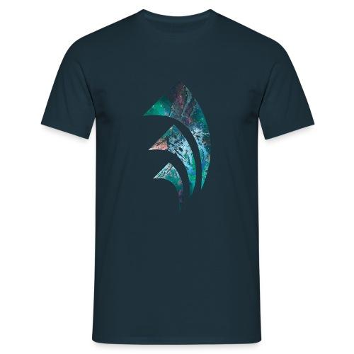 Space Triangle - Männer T-Shirt