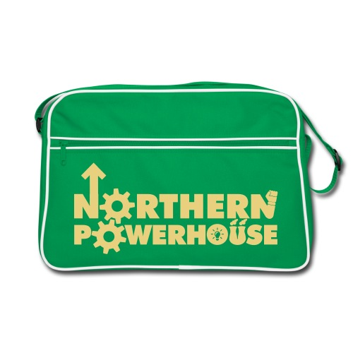 Northern Powerhouse Retro Bag - Sand - Retro Bag