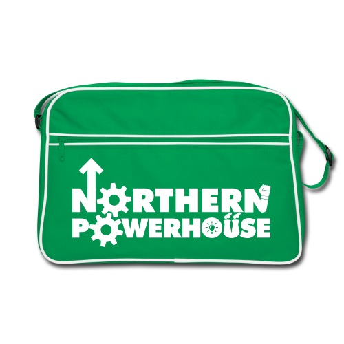 Northern Powerhouse Retro Bag - Green - Retro Bag