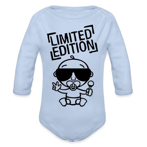 Limeted Edition Body - Baby Bio-Langarm-Body