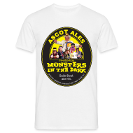 T-Shirts ~ Men's T-Shirt ~ Monsters in the Dark - Men's