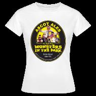 T-Shirts ~ Women's T-Shirt ~ Monsters in the Dark - Women's
