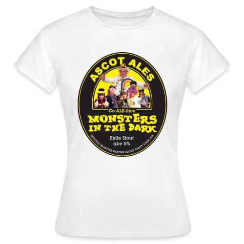 Monsters in the Dark - Women's - Women's T-Shirt