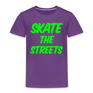 skate the streets - Kinder Premium T-Shirt