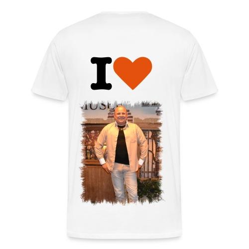 shirt i love mike davids - Mannen Premium T-shirt